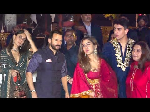 Saif Ali Khan's SH0KING Entry Wid Wife Kareena Infront Of EX-Wife AMRITA, Kids Sara & Ibrahim