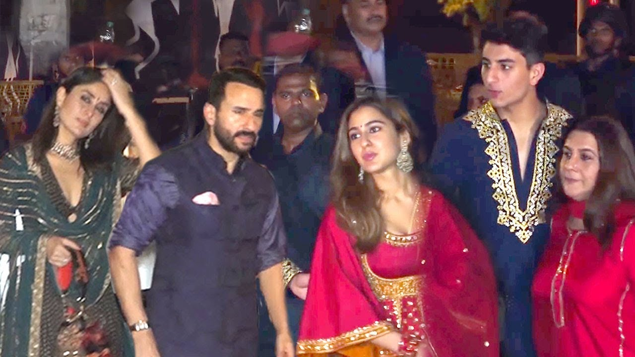 Saif Ali Khan's SH0KING Entry Wid Wife Kareena Infront Of ...Saif Ali Khan Wife