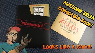 Awesome Nintendo Collectible! The Legend Of Zelda Encyclopedia Deluxe Edition