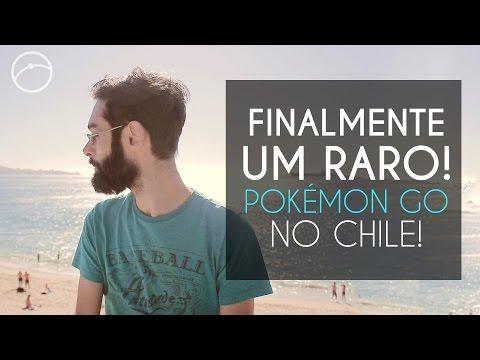 Finalmente um raro! | Jogando Pokémon GO no Chile Ep. 08