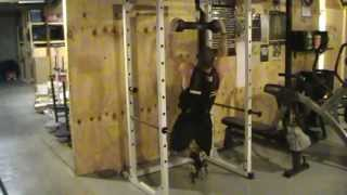 Weighted Dog Bone Pull Ups