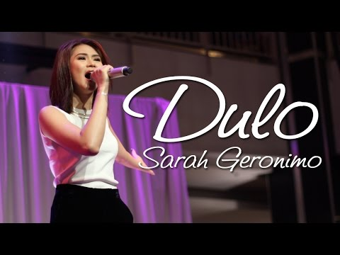 Sarah Geronimo — Dulo | LIVE!