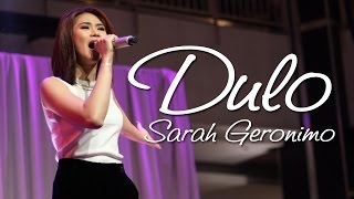 DULO : Sarah Geronimo [from the Perfectly Imperfect album tour!]