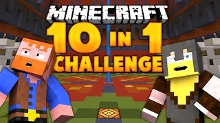 Minecraft ★ 10 in 1 Challenge II - Dumb Vs Dumber
