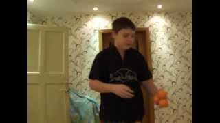 Видео урок жонглирования мячами