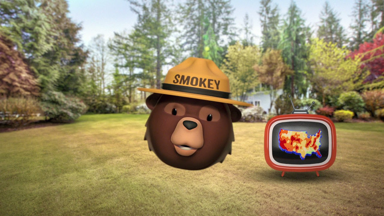 Smokey Bear - Al Roker I Wildfire Prevention I Ad Council