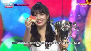 180718 TWICE 'DANCE THE NIGHT AWAY' 1st win on Show Champion