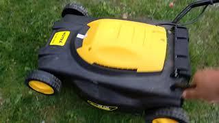 видео Газонокосилка Huter ELM 1400