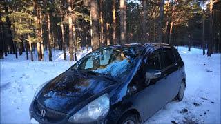 Обзор автомобиля Honda Jazz 2007 год 1 часть