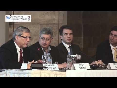 2016 7th Annual Greek Shipping Forum - Restructuring as a Business & Investment Opportunity