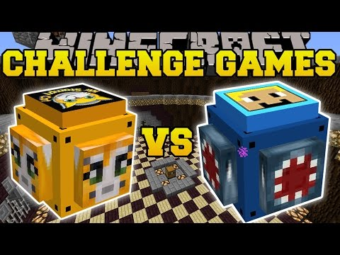 Thumbnail: Minecraft: STAMPYLONGHEAD VS IBALLISTICSQUID CHALLENGE GAMES - Lucky Block Mod - Modded Mini-Game