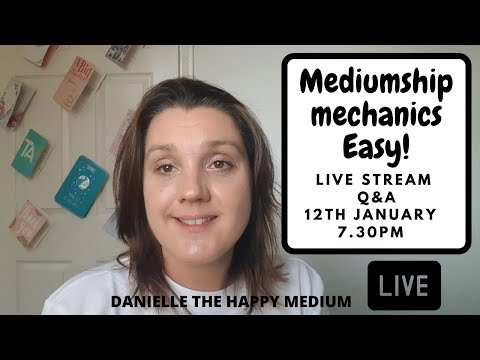 Chat & Q&A on Mediumship Development & Mediumship Training