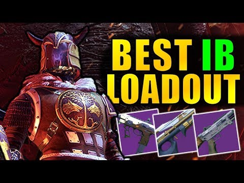 Destiny 2: BEST IRON BANNER LOADOUT!