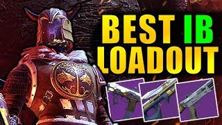 Destiny 2: best iron banner loadout!