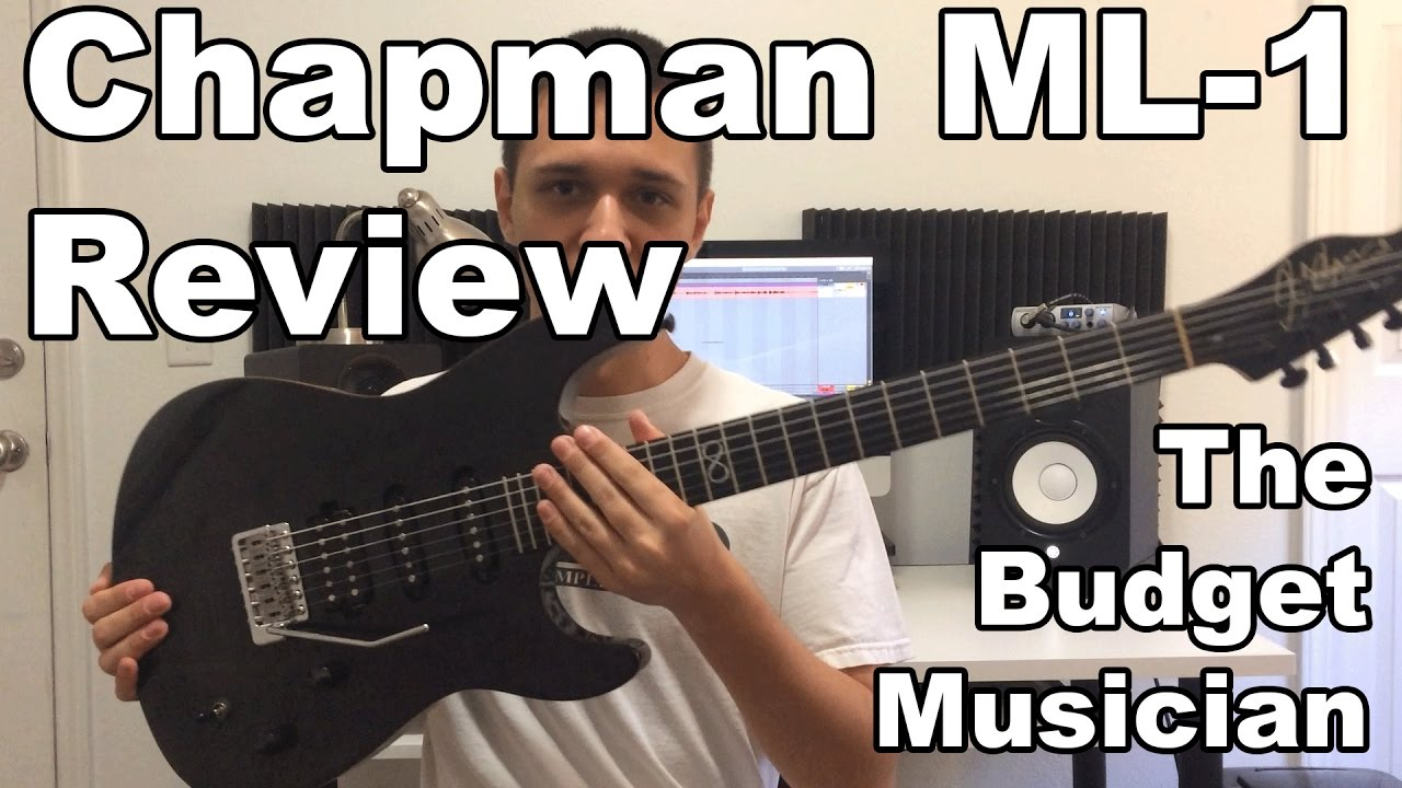 chapman guitars ml 1 trans black review the budget musician youtube. Black Bedroom Furniture Sets. Home Design Ideas