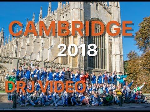 RSG Slingerbos Levant trip to Cambridge 2018