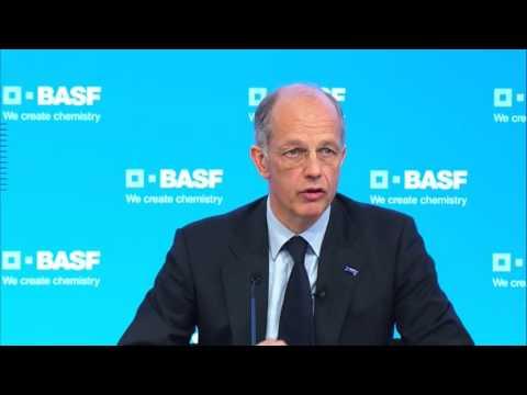 BASF Pressekonferenz