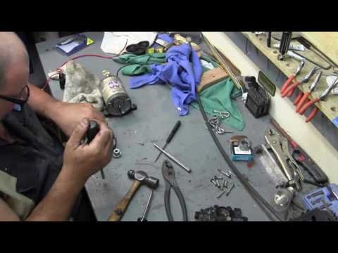 Fix a 12 volt water pump