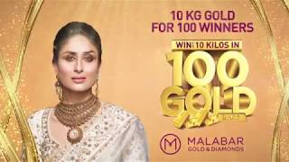 Win up to 10 Kilos of Gold for 100 winners at Malabar Gold & Diamonds- Oman
