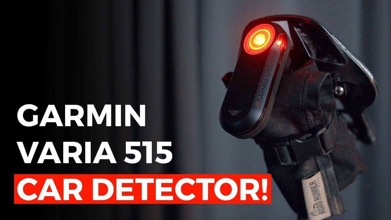 How To Mount a Garmin Varia RTL515 BEHIND Your Saddle Bag!