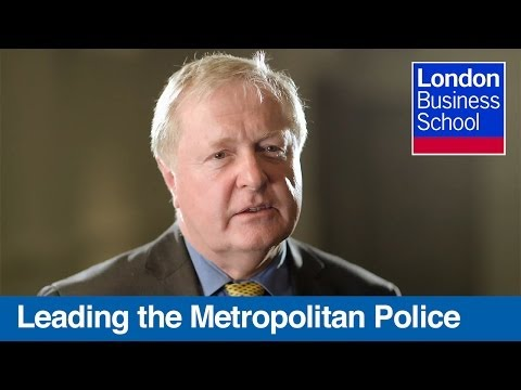 Leading London's Metropolitan Police: Lord Ian Blair | London Business School
