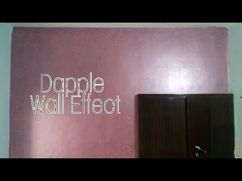DAPPLE EFFECT | WALL TEXTURE (Dapple)