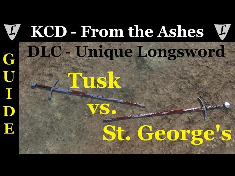 Kingdom Come - From the Ashes || DLC - Unique Items || Longsword Tusk |