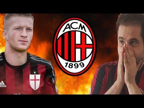 REUS al MILAN??? MI SENTO MALE!!! [Calciomercato Milan]