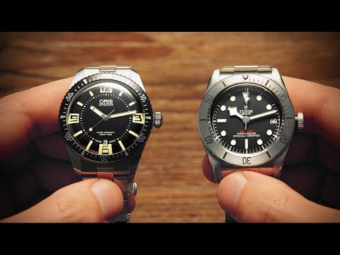 Is A Tudor Black Bay Worth Two Oris Divers Sixty-Five? | Watchfinder & Co.