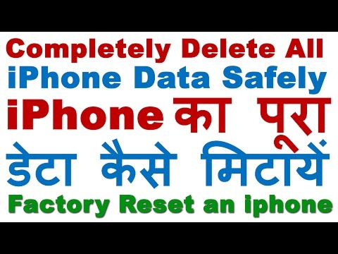 How To Delete All Iphone Data Completely Easily Before Selling Factory Reset An Iphone