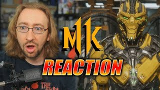 MAX REACTS: MK11 Launch Trailer...Almost Cried
