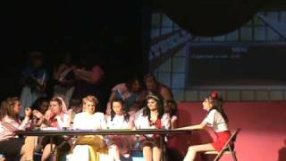 Grease -- Lunch Scene (before summer nights)