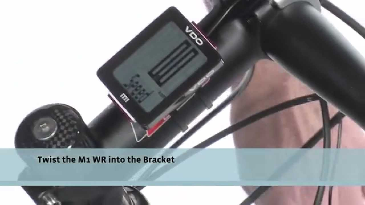 Vdo Cycleparts Installation Video M1 Wr Youtube