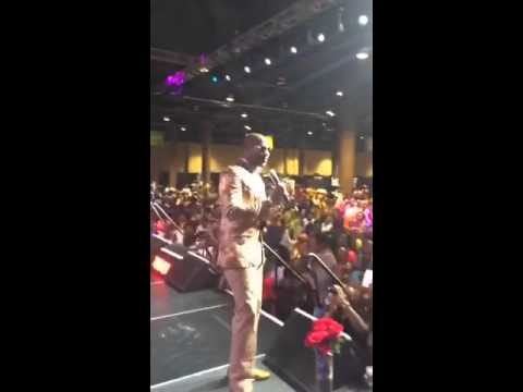 Jaheim performs live at the Allstate Tom Joyner Family Reunion