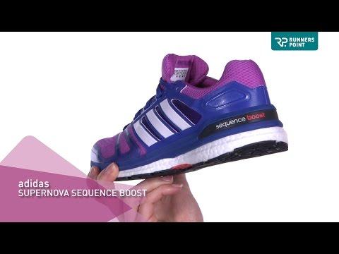 adidas Supernova Sequence Boost Damen Laufschuh - YouTube
