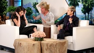 Ellen has always loved giving her guests a good thrill, and she put together this montage of some of her favorite scares from over the years!