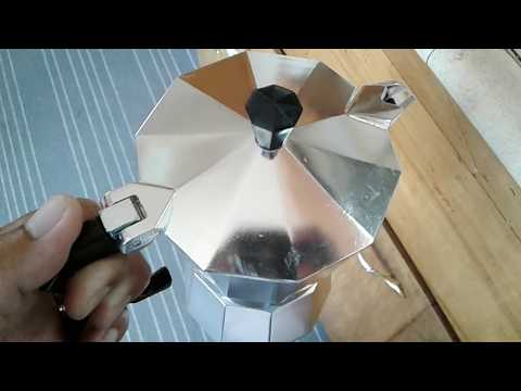 How to make coffee from aluminum coffee maker