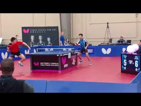 Arnold Schwarzenegger Challenge - Open Singles Quarters - Bo Wen Chen vs Kai Zhang