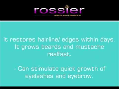 Amazing Organic Hair Grower. 100% By El-glittas