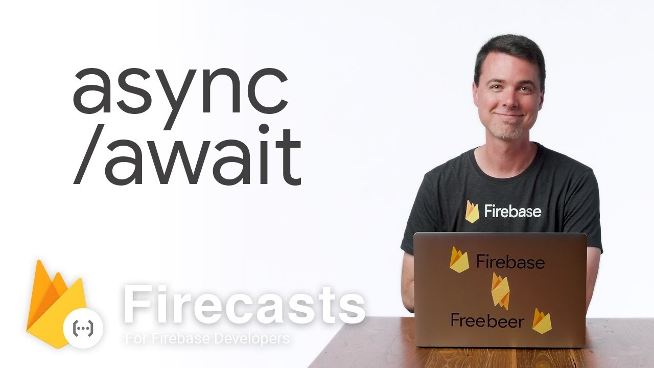 Use async/await with TypeScript in Cloud Functions for Firebase - Firecasts