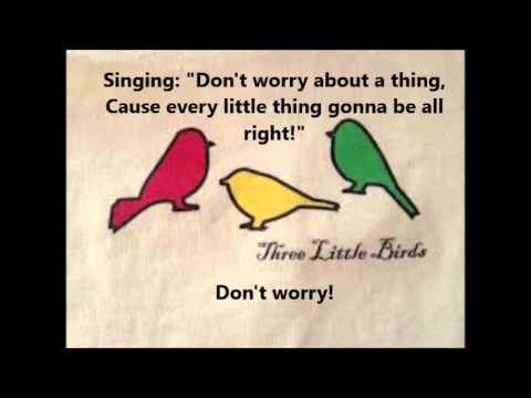 Bob Marley - Three Little Birds (With Lyrics)