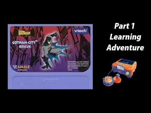 Batman: Gotham City Rescue (V.Smile) (Playthrough) Part 1 - Learning Adventure