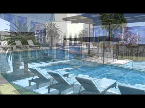 A Modern Swimming Pool Design By Dallas Pool Builder, Pool Environments