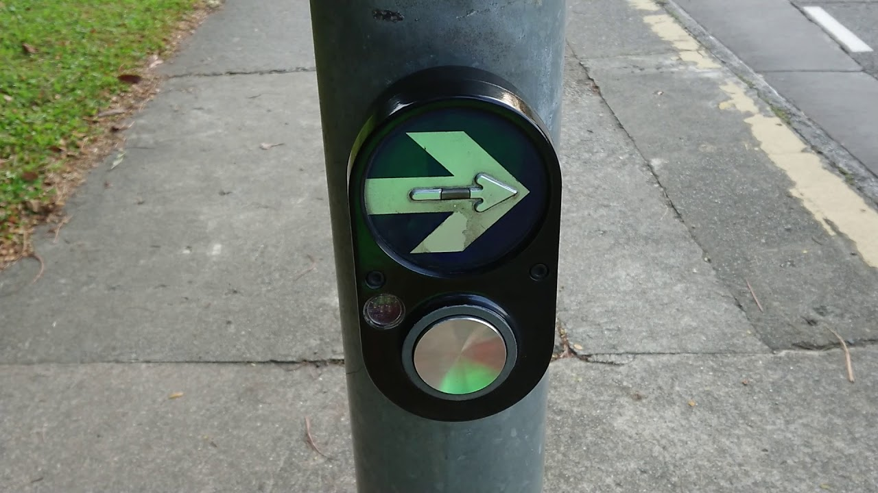 Singapore Pedestrian Crossing Button sound at Yio Chu Kang Road (Chinese New Year Special)