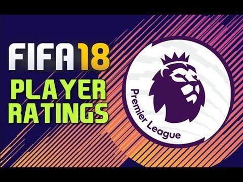 FIFA 18 Premier League Player Ratings
