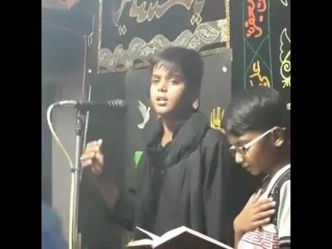 Azadari ghosi mau U.P. India 2016 Nauhakhwa- Nasim haider