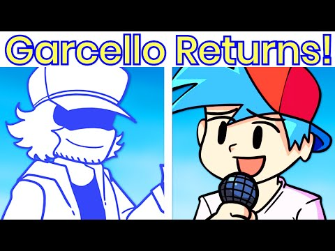 Download Return of Garcello! FULL WEEK [HARD] - Friday Night Funkin' VS Garcello Mod Anniversary
