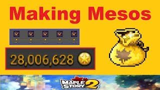 How to Make QUICK *Mesos* in Maplestory 2! (Video Guide on Making Mesos for Maplestory 2)