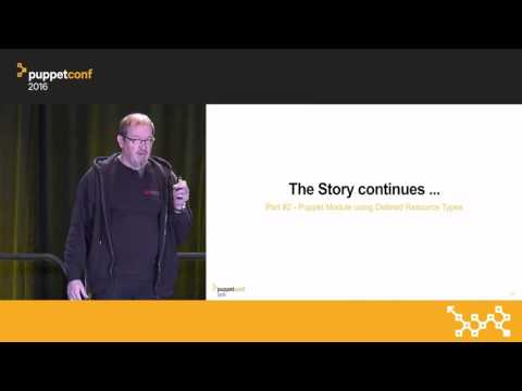 Moving From Exec to Types and Providers – Martin Alfke at PuppetConf 2016
