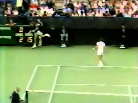 Jimmy Connors vs McEnroe SF - US Open 1979